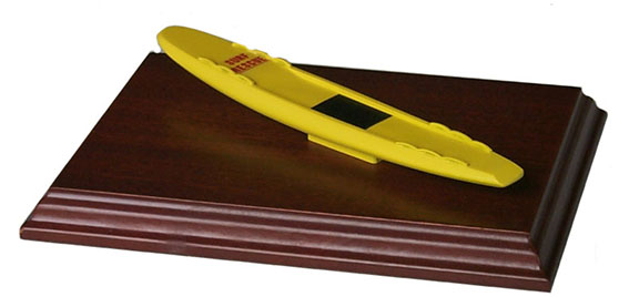 Surfboard trophy