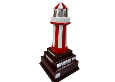 Lighthouse trophy
